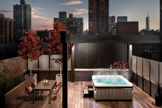 Skylines and City living in your Caldera Hot Tub