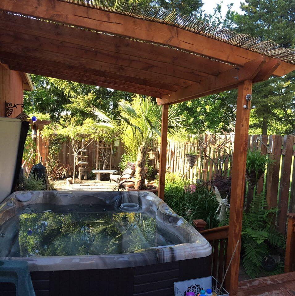 Fall in love with a Caldera Hot Tub