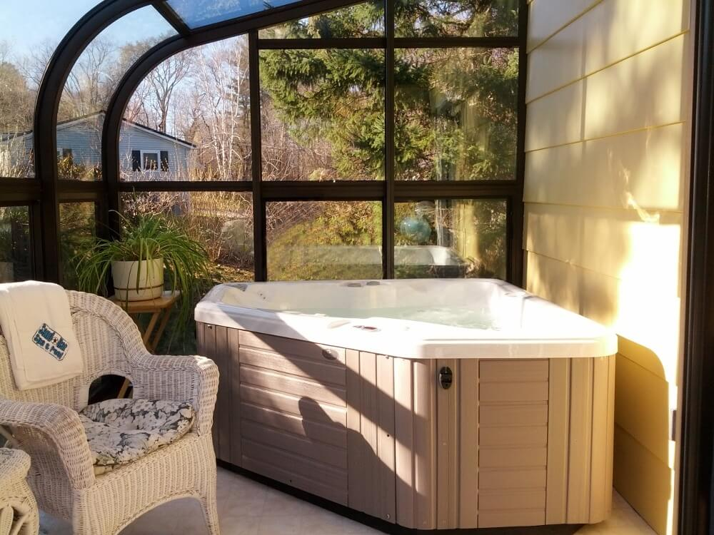 The Aventine, a 2-person hot tub by Caldera